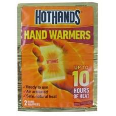 تدفئة اليدين في البرد